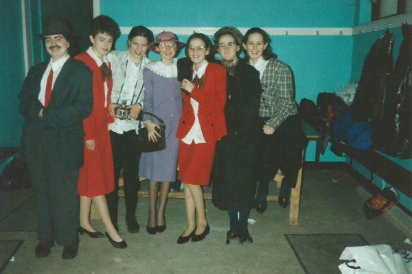 1996 Sharon Mannion, Teresa Lyons, Tracey Jennings, Suzanne Keane, Lisa Bailey, Natalie Flanagan, Suzanne Carlos. Jnr. Novelty Act Connacht Finalists.