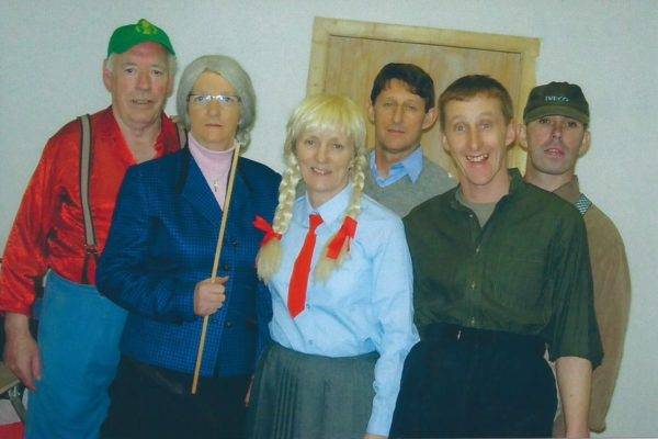 2007 Frank Hussey, Mary Hussey (rip) Alice Mannion, Martin Connolly, Padraic Connolly, Peter Vesey. Snr.Novelty Act, Co. Winners.
