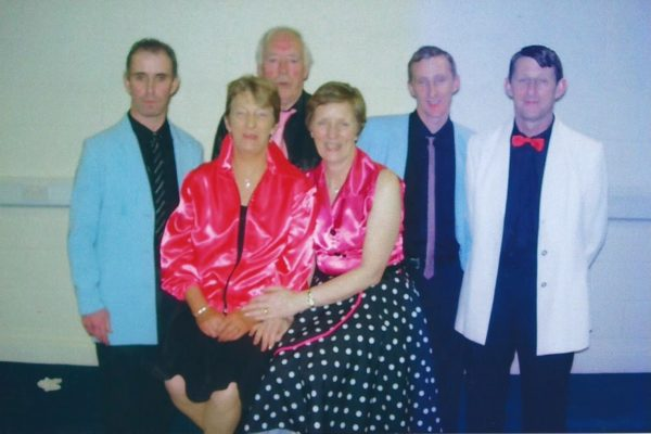 2011 Peter Vesey, Frank Hussey, Padraic Connolly, Martin Connolly, Mary Hussey (rip) Alice Mannion. Snr. Novelty Act Connacht Finalists for a record 12th. time!