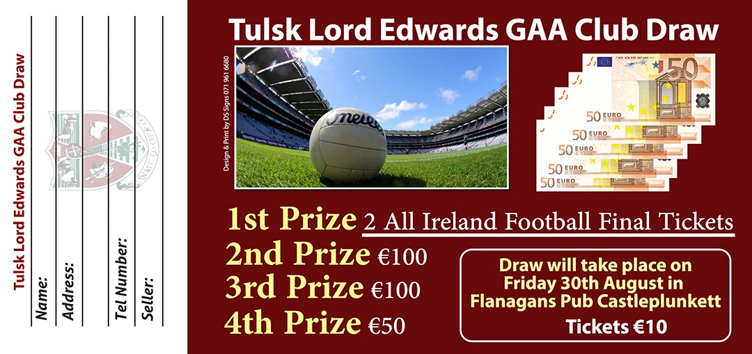 all-ireland ticket draw